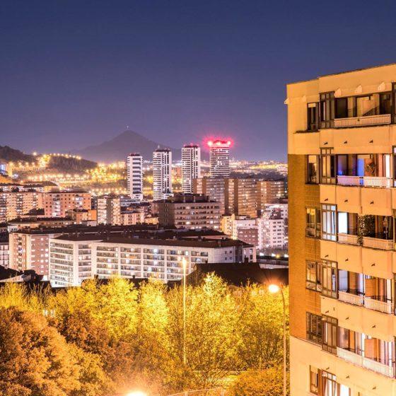 90 - Bilbao desde casa. Nocturna
